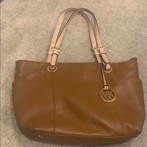MICHAEL MICHAEL KORS Tan Leather Tote